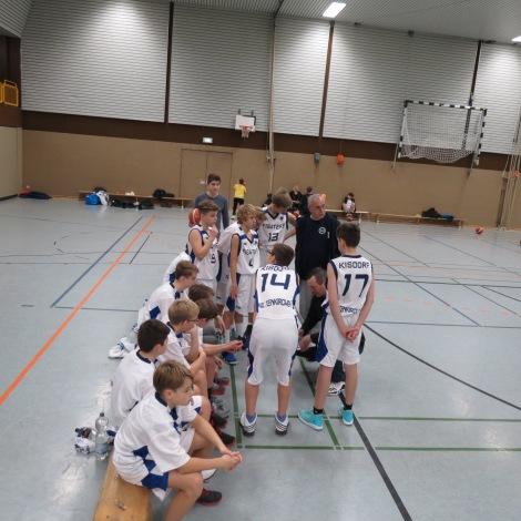 U16 Teambesprechung