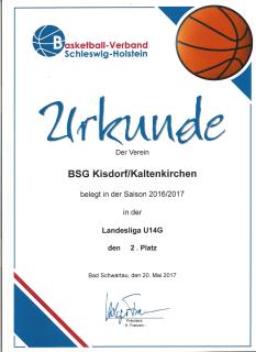U14 Urkunde 2017 - Kopie