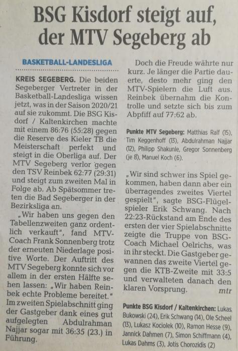 BSGKK vs. KTB ll.
